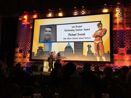 NYSCATE 2016 Award